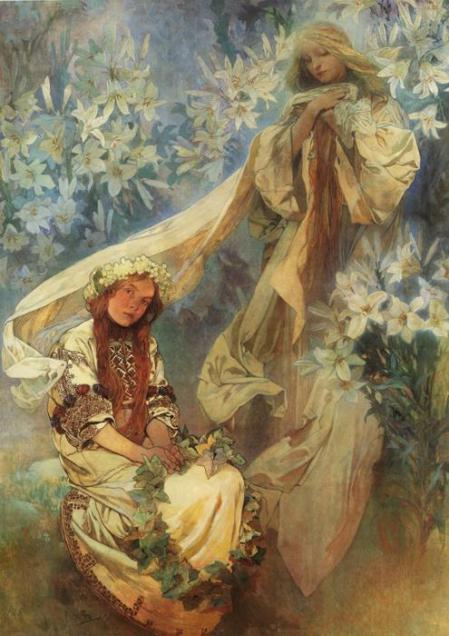 Madonna of the Lilies. 1905